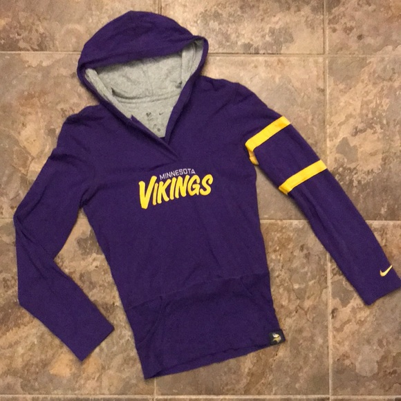 new styles 6e88a ec7dd Nike Minnesota Vikings NFL Apparel Hoodie